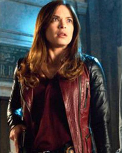 Beauty and The Beast Catherine Chandler Leather Jacket