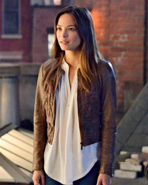 Catherine Chandler Leather Jacket