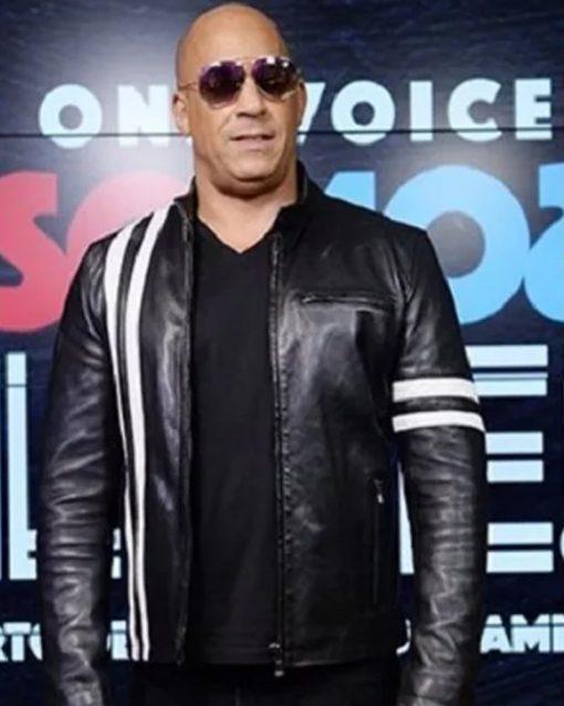 Bloodshot Vin Diesel Black Jacket