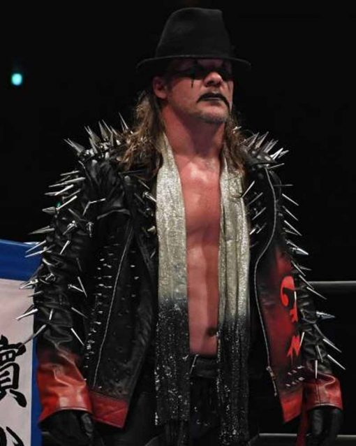 Chris Jericho AEW Jacket With Spikes