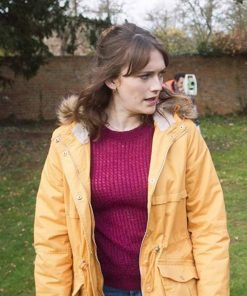 TV Series Ghosts Cotton Charlotte Ritchie Alison Jacket