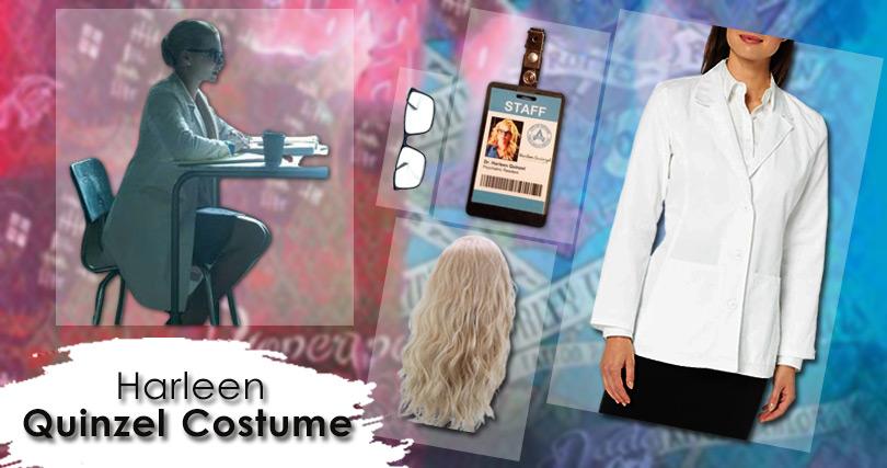 Harleen Quinzel Costume
