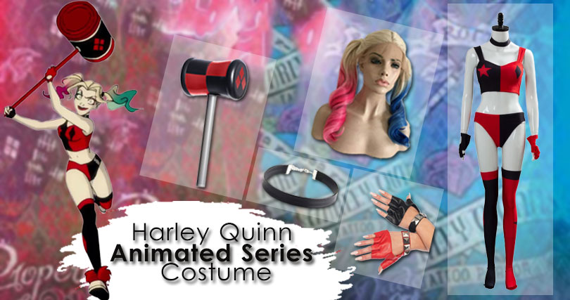 Harley Quinn 2019 Animated Series Costume