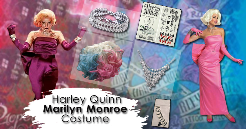 Harley Quinn Birds Of Prey Marilyn Monroe Costume