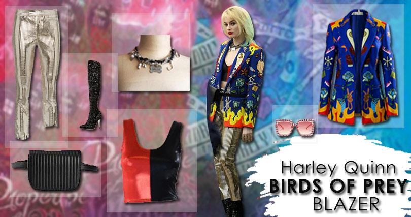 Harley Quinn Blazer Costume