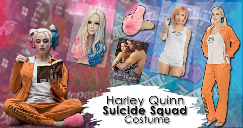 Suicide Squad Harley Quinn Prison Costume