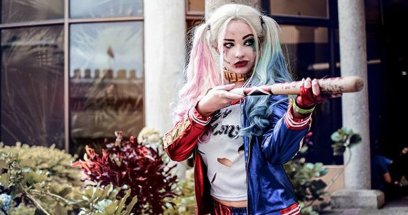 Harley Quinn Suicide Squad Costume Cosplay