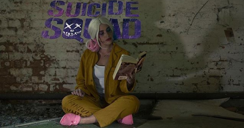 Harley Quinn Suicide Squad Prison Costume Cosplay
