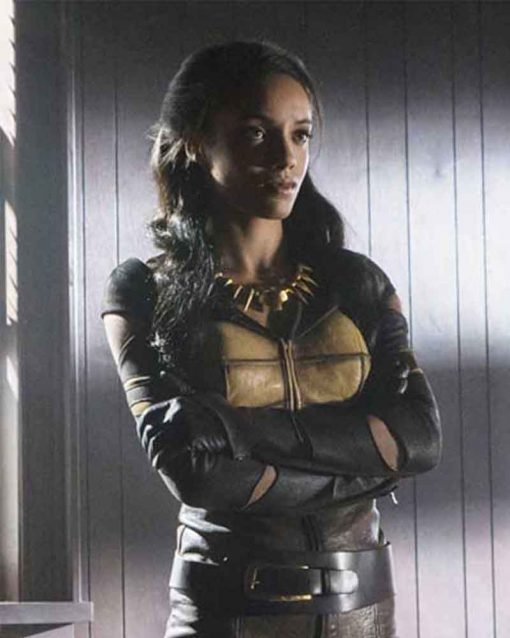 Legends Of Tomorrow Maisie Richardson-Sellers Leather Vixen Jacket