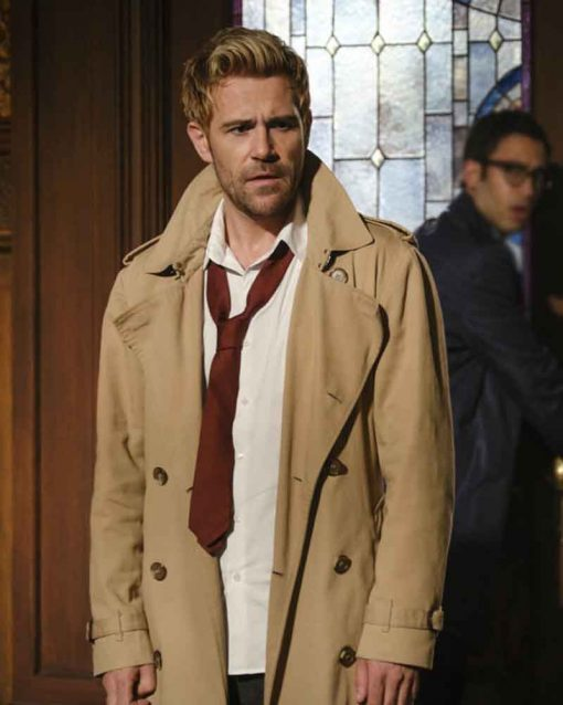 Legends of Tomorrow S05 Double Breasted Matt Ryan John Constantine Coat