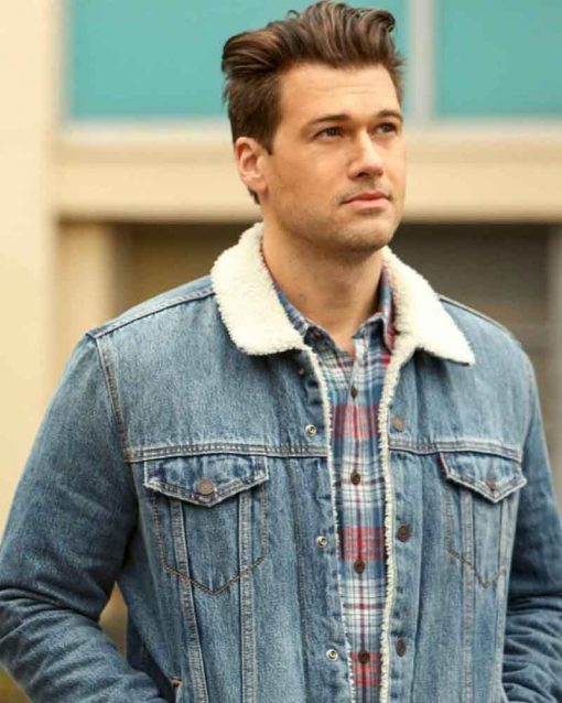 Legends of Tomorrow S05 Nate Heywood Nick Zano Denim Jacket