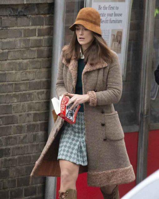 Misbehaviour Keira Knightley Grey Sally Alexander Coat