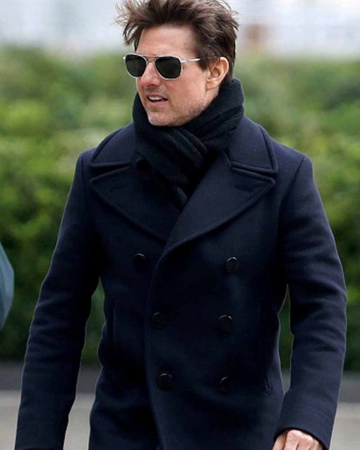Mission Impossible 6 Tom Cruise Wool Ethan Hunt Coat