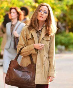 Rose Byrne Camel Brown Gloria Steinem Mrs. America Coat