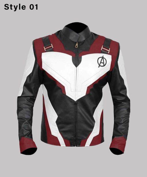 Quantum Realm Leather Jacket