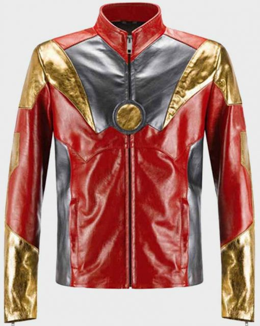 Spider-Man Homecoming Robert Downey Jr. Iron Man Leather Jacket