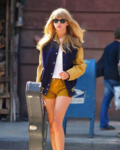 Taylor Swift Baseball Jacket