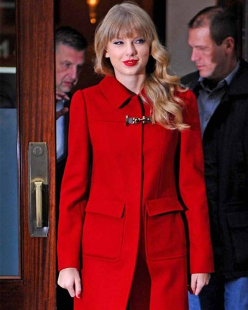 Taylor Swift Red Coat
