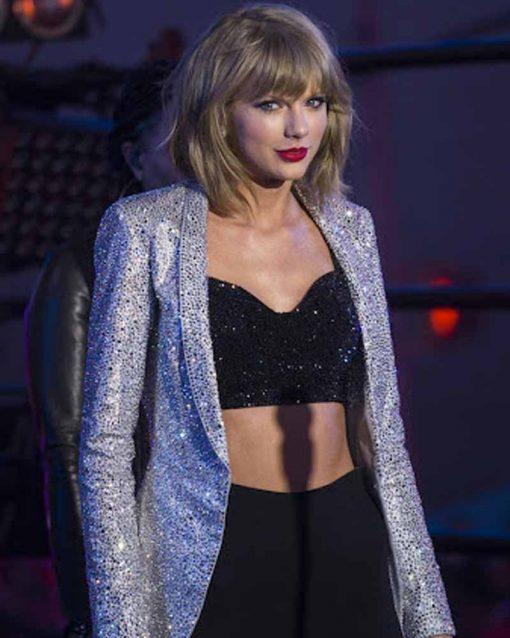Taylor Swift Silver Blazer