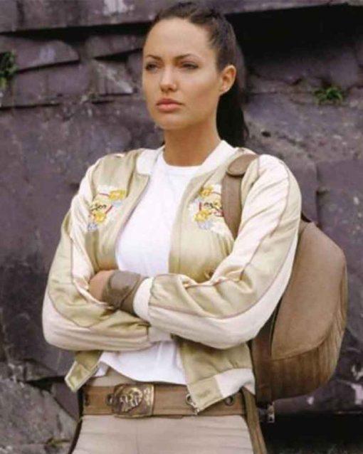 The Cradle Tomb Raider Of Life Lara Croft Bomber Jacket