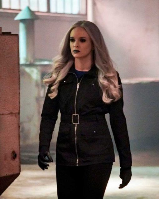 The Flash S05 Danielle Panabaker Black Jacket