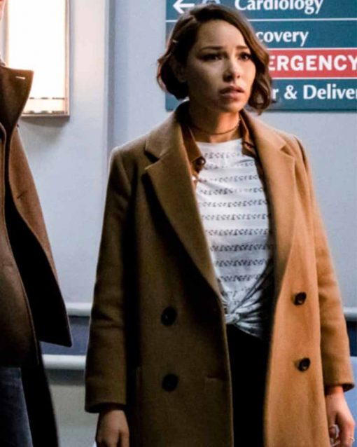 The Flash S05 Nora West Allen Coat