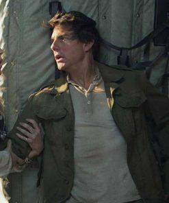 Tom Cruise Green The Mummy Nick Morton Jacket