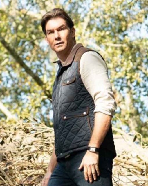 The Secret: Dare to Dream Jerry O'Connell Quilted Tucker Vest