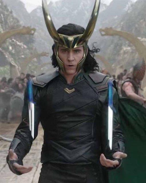 Thor Ragnarok Loki Leather Jacket