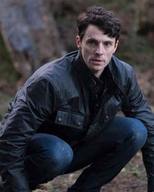 A Discovery of Witches Matthew Goode Matthew Clairmont Leather Jacket