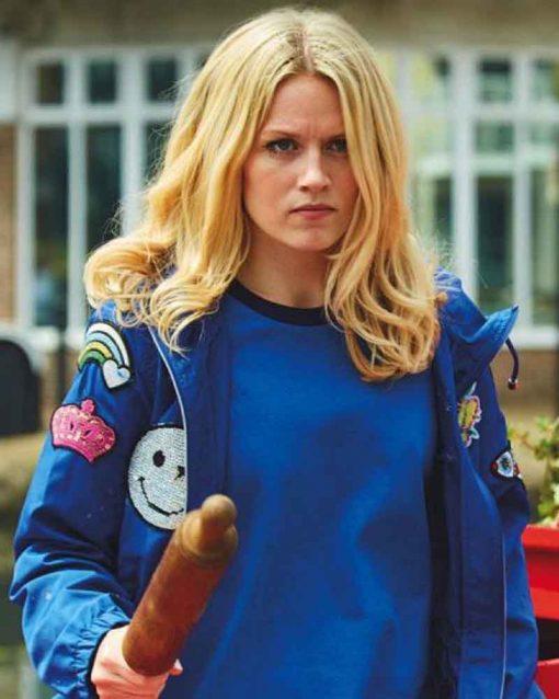 Zomboat Jo Blue Jacket