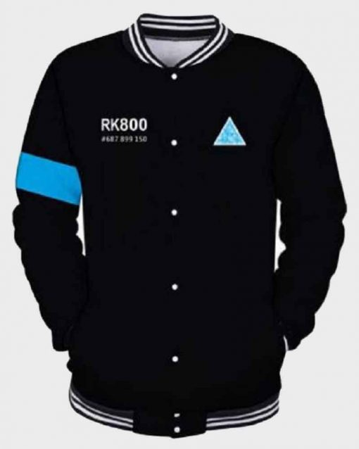 Detroit Become Human Cotton RK-800 Connor Bomber Jacket