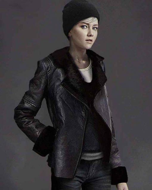 Detroit Become Human Valorie Curry Leather Kara Jacket