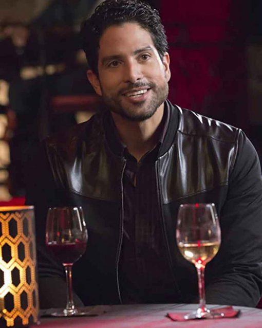 Adam Rodriguez Black TV Series Empire Laz Delgado Jacket
