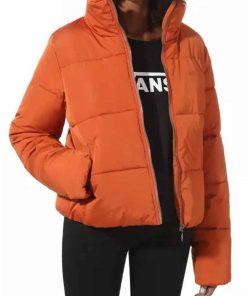 Meta Golding Orange TV Series Empire S06 Ep14 Teri Puffer Jacket
