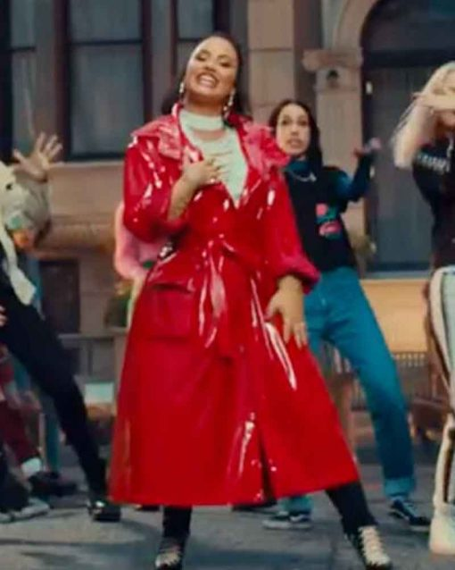 Demi Lovato Coat
