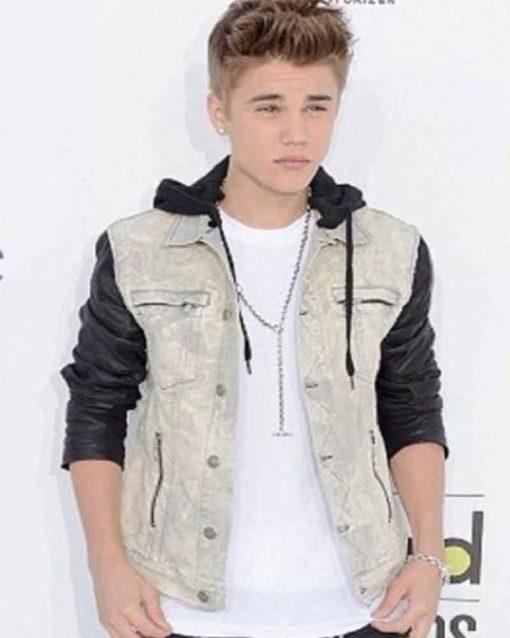 Singer Justin Bieber Billboard Music Awards Jacket