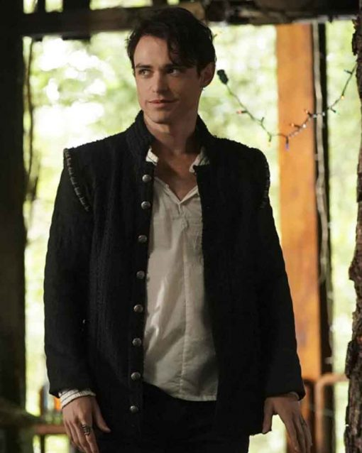 Legacies S02 Thomas Doherty Black Sebastian Jacket
