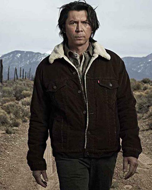 Longmire Lou Diamond Phillips Shearling Henry Standing Bear Jacket