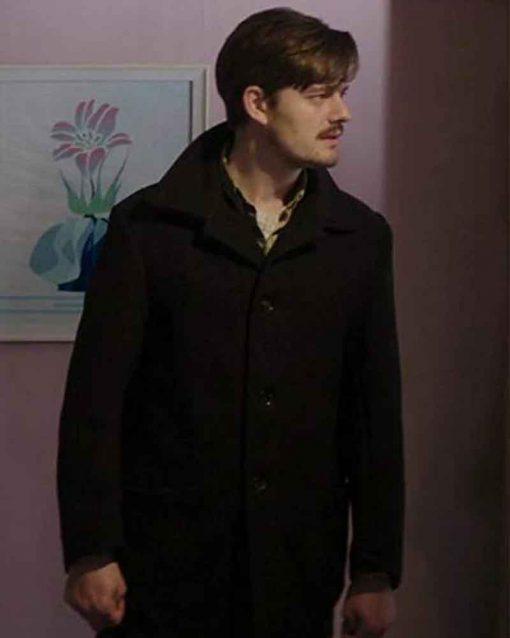 Sometimes Always Never Sam Riley Black Peter Coat