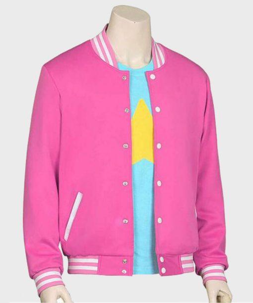 Pink Baseball Steven Universe Bomber Jacket For Women's