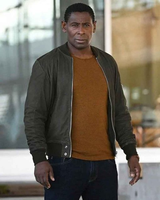 Supergirl David Harewood Bomber J'onn J'onzz Leather Jacket