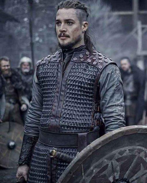 The Last Kingdom S03 Alexander Dreymon Uhtred Vest with Studs