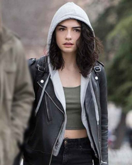 Zeynep Erman Black Biker Jacket