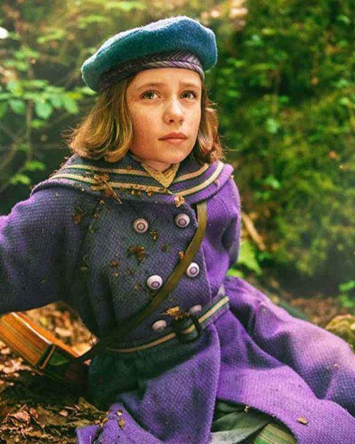 The Secret Garden Dixie Egerickx Mary Lennox Coat