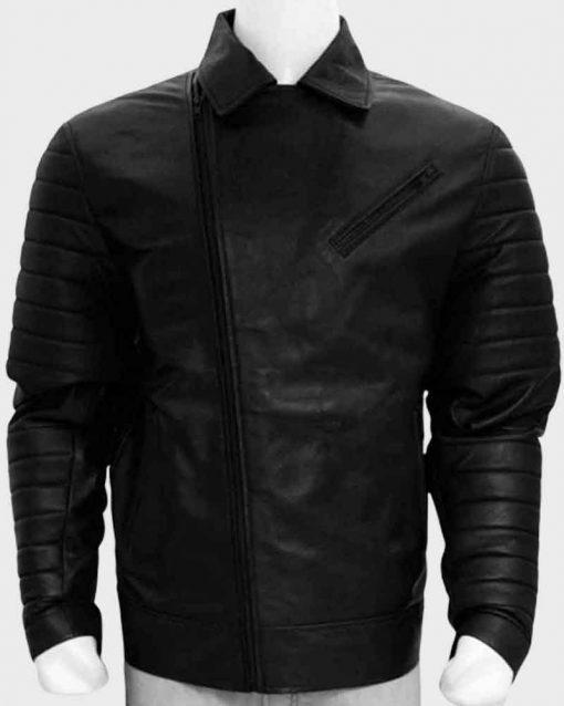 WWE Wrestler Black Finn Balor Leather Jacket