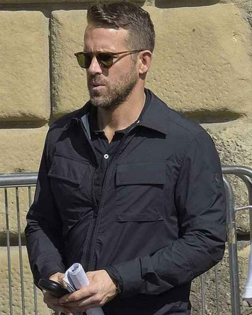 Black Cotton 6 Underground Ryan Reynolds One Jacket