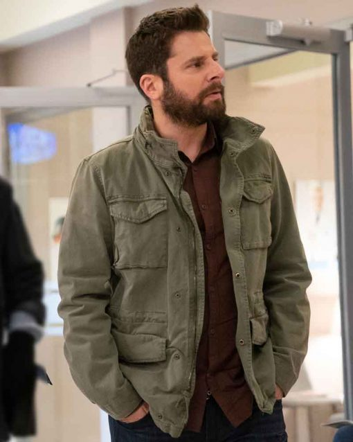 A Million Little Things James Roday Gary Mendez Green Jacket