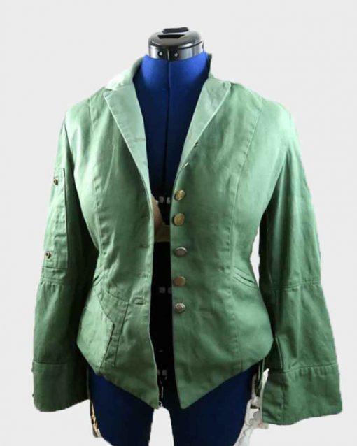 Captain America Civil War Elizabeth Olsen Wanda Maximoff Jacket