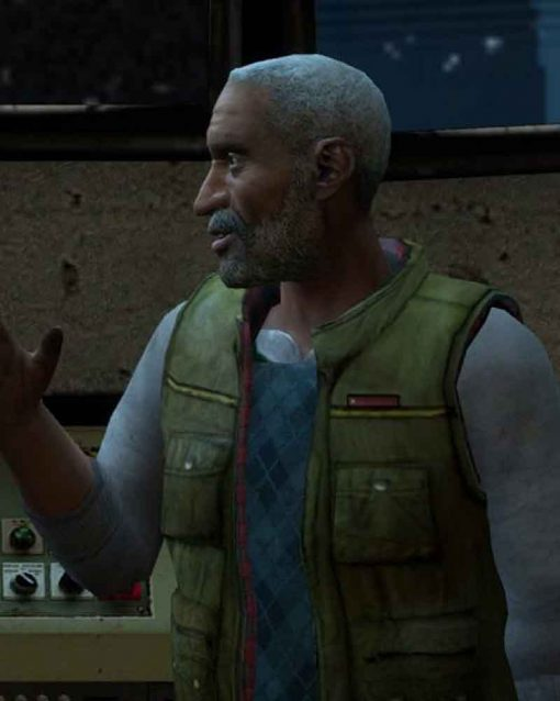 Half Life 2 Dr Eli Vance Green Vest